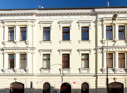 Company registered office in Plzeň, Business centrum Na Roudné